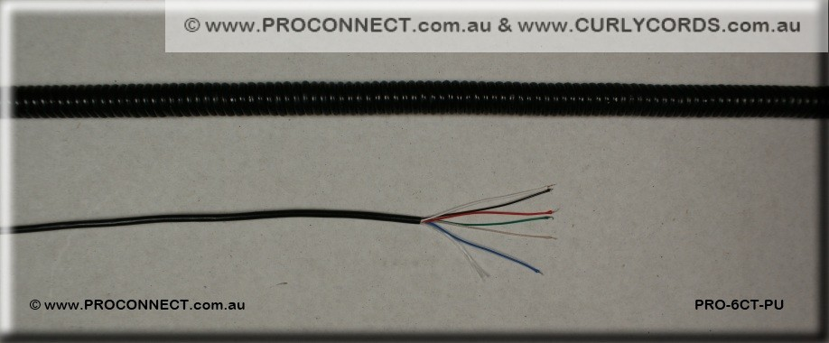 PRO 6CT PUa curly cords for microphones www curlycords com au gme microphone wiring diagram at love-stories.co